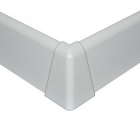 NF vonkajší roh biely oblý 38mm