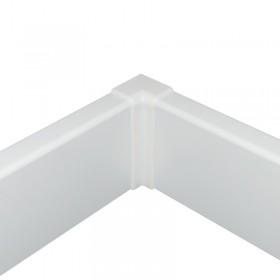 NF vnútorný roh biely hranatý 58mm