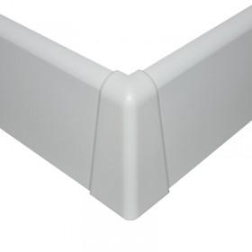 NF vonkajší roh biely oblý 58mm